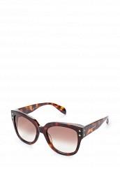 Купить Очки солнцезащитные Alexander McQueen коричневый AL001DWQYL28 Италия