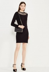 Купить Платье Boutique Moschino черный BO036EWUFP29