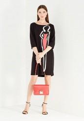Купить Платье Boutique Moschino черный BO036EWUFP34