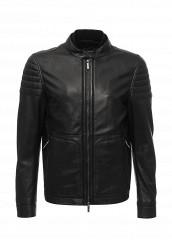Купить Куртка кожаная Boss черный BO246EMSSB69