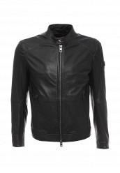 Купить Куртка кожаная Boss Orange черный BO456EMORW41