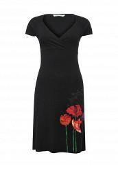 Купить Платье Desigual черный DE002EWOQQ63