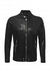 Купить Куртка кожаная Diesel черный DI303EMVNQ42 Индия
