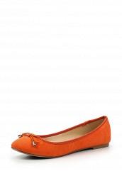 Купить Балетки Dorothy Perkins оранжевый DO005AWIOV88