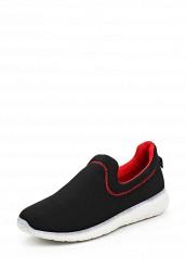 Купить Слипоны Ideal Shoes черный ID005AWPSL48 Китай