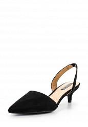 Купить Туфли FELICITY SLING BACK KITTEN HEEL LOST INK черный LO019AWOOJ42