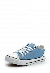 Купить Кеды POLLY LACE UP PLIMSOLL LOST INK голубой LO019AWOPS48