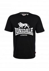 Купить Футболка Lonsdale черный LO789EMARB43 Индонезия