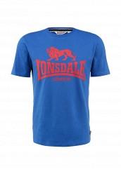 Купить Футболка Lonsdale синий LO789EMFJO92