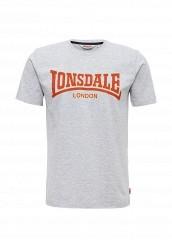 Купить Футболка Lonsdale серый LO789EMUIC48