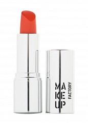 Купить Помада для губ кремовая Lip Color тон 183 клубничный сок Make Up Factory MA120LWHDQ40