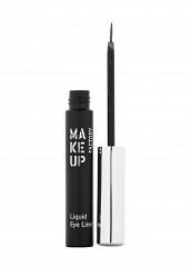 Купить Подводка Жидкая для глаз Liquid Eye Liner тон 16 серебрянный Make Up Factory MA120LWHDR45