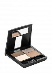 Купить Тени Матовые 4-х цветные для глаз Mat Eye Colors тон 070 коричневый, св.коричн, св.беж, серый беж Make Up Factory коричневый MA120LWHDS01