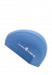 Купить Шапочка для плавания MadWave голубой MA991DKTRI27