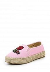 Купить Эспадрильи Mellisa розовый ME030AWQTK57 Китай