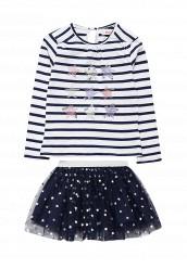 Купить Комплект лонгслив и юбка Modis серый, синий MO044EGWIN66 Китай