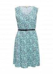 Купить Платье Modis бирюзовый MO044EWSUO63