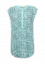 Купить Блуза Modis бирюзовый MO044EWTJE78