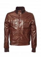 Купить Куртка кожаная Grafinia коричневый MP002XM0QT2B