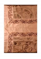 Купить Комплект постельного белья Евро Asabella коричневый MP002XU0016A