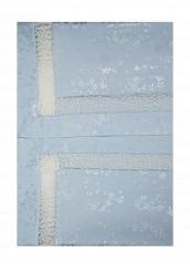Купить Комплект постельного белья Евро Asabella голубой MP002XU0016G