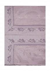 Купить Комплект постельного белья Евро Asabella фиолетовый MP002XU00173