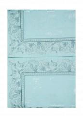 Купить Комплект постельного белья Евро Asabella бирюзовый MP002XU0017C