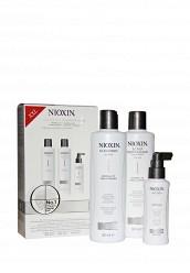 Купить Набор Система 1 для тонких натуральных волос склонных к выпадению 700 мл Nioxin белый MP002XW0DR4H