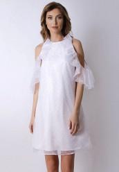 Купить Платье Olga Skazkina белый MP002XW1A8Q0