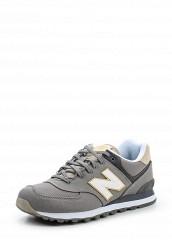 Купить Кроссовки ML574 New Balance серый NE007AMPDJ86