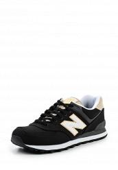 Купить Кроссовки ML574 New Balance черный NE007AMPDJ87