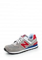 Купить Кроссовки New Balance ML574 серый NE007AMPED23 Вьетнам