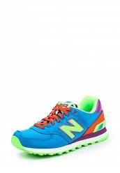 Купить Кроссовки New Balance WL574 синий NE007AWPEH87 Вьетнам