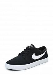 Купить Кеды Nike NIKE SB PORTMORE II (GS) черный NI464ABUFH44 Индонезия