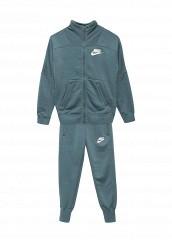 Купить Костюм спортивный G NSW TRK SUIT FT Nike зеленый NI464EGUFG15