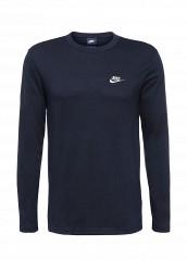 Купить Лонгслив M NSW TOP LS JSY CLUB Nike синий NI464EMJFP42