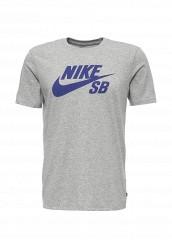 Купить Футболка спортивная Nike SB LOGO TEE серый NI464EMPKK26 Малайзия