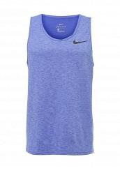 Купить Майка спортивная M NK BRT TANK HPR DRY Nike синий NI464EMPKM15