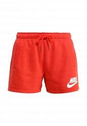 Купить Шорты спортивные NIKE RALLY SHORT-LOGO Nike красный NI464EWHBK87