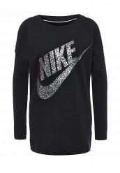Купить Лонгслив W NSW TOP LS GX Nike черный NI464EWJGB05