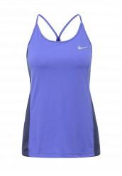 Купить Майка спортивная Nike W NK DRY MILER TANK синий NI464EWPKU39 Малайзия
