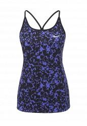 Купить Майка спортивная W NK DRY MILER TANK PR Nike синий NI464EWPKU43