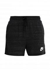 Купить Шорты Nike W NSW AV15 SHORT KNT черный NI464EWRZB08 Камбоджа