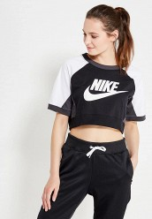 Купить Футболка W NSW TOP SS CB Nike черный NI464EWUHH38