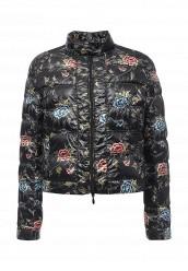 Купить Куртка утепленная oodji черный OO001EWOZX40