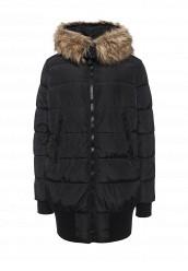 Купить Куртка утепленная oodji черный OO001EWOZZ44