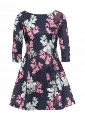 Купить Платье oodji синий OO001EWQUA56 Китай