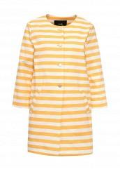 Купить Пальто oodji оранжевый OO001EWSNJ43 Китай