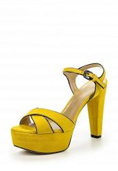Купить Босоножки Stuart Weitzman желтый ST001AWHLJ29 Испания