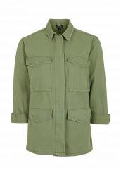 Купить Куртка Topshop хаки TO029EWQZZ86
